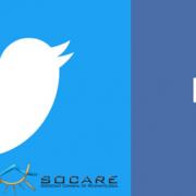 Facebook y twitter SOCARE